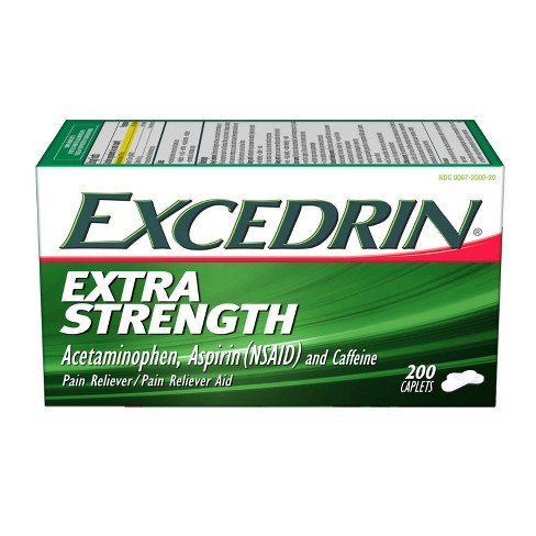 Excedrin Extra Strength Pain Reliever Caplets