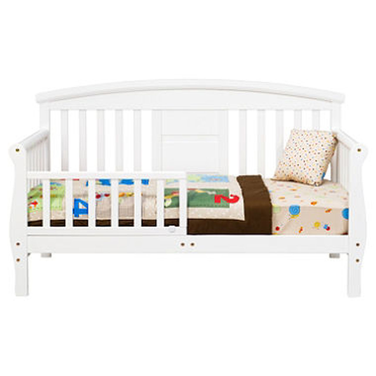 Davinci Elizabeth II Convertible Toddler Bed Includes Mattress & Sheets