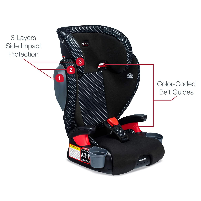Britax Highpoint Ventilating Fabric Car Seat