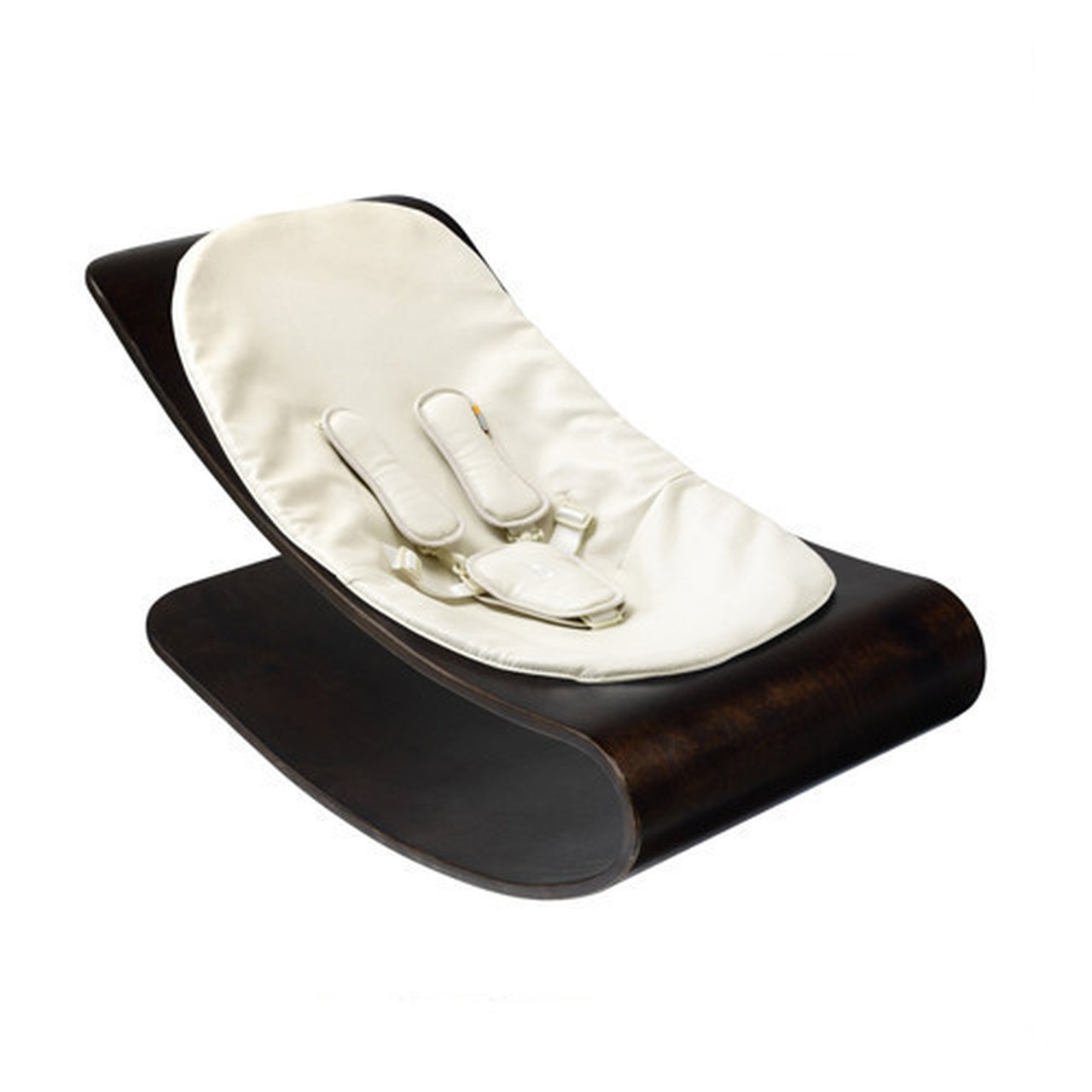 Bloom Coco Stylewood Baby Lounger with Seat Pad