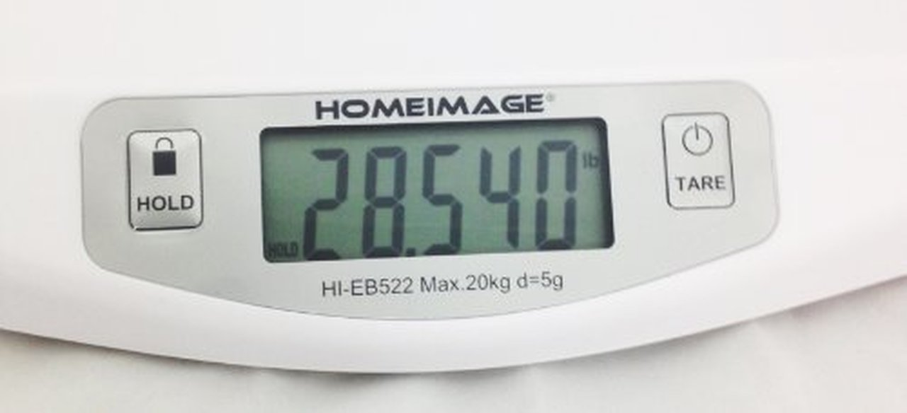 HOMEIMAGE Digital Scale for Infants and Pets