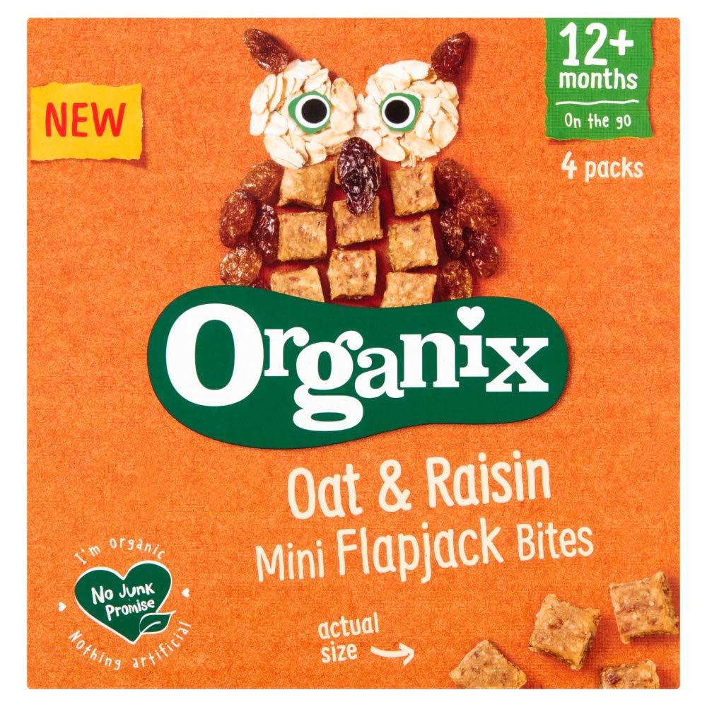 Organix Oat & Raisin Flapjack