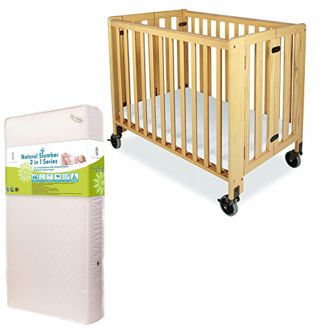 PACKAGE 8 (COMPACT CRIB)
