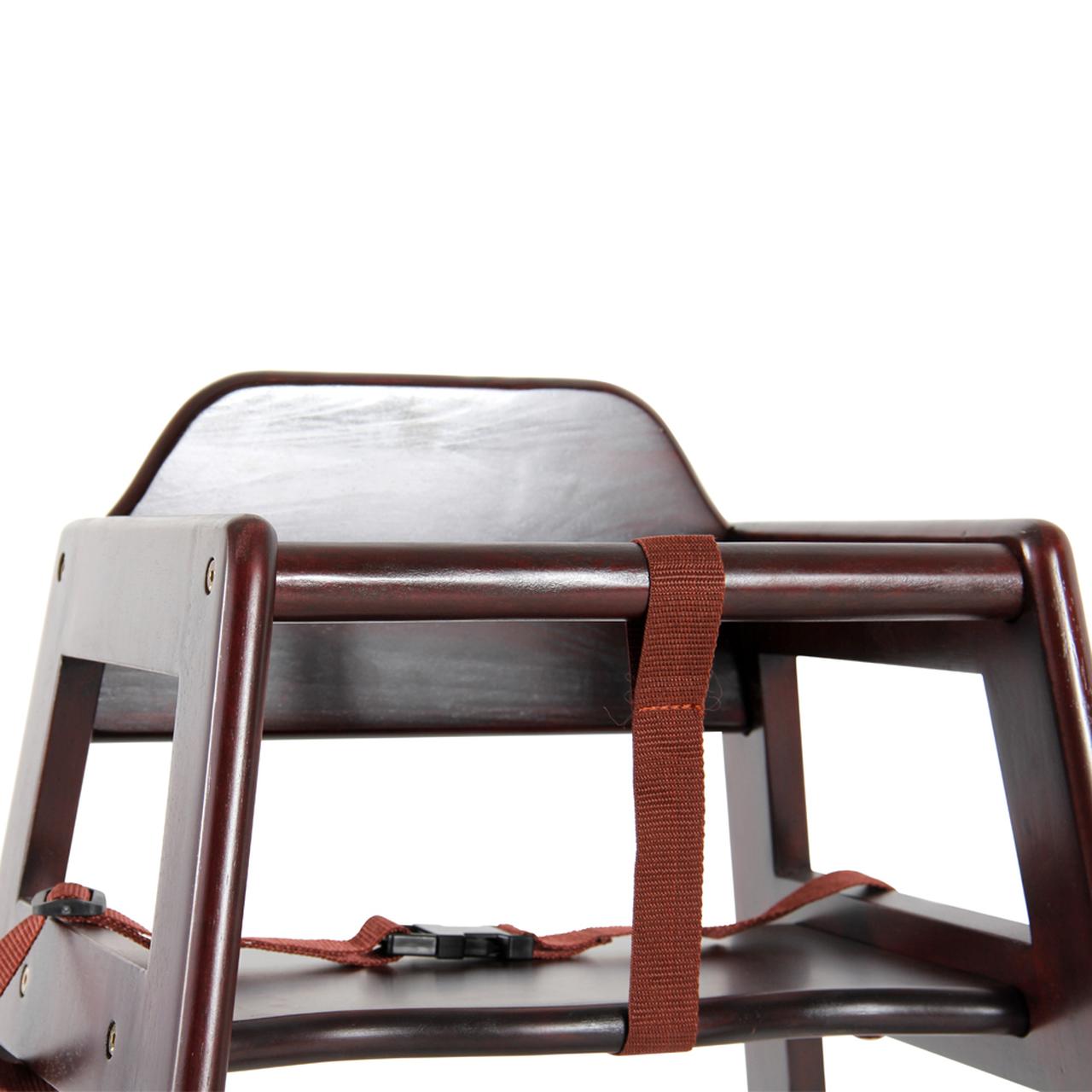 Challenger Knocked Down Walnut Highchair