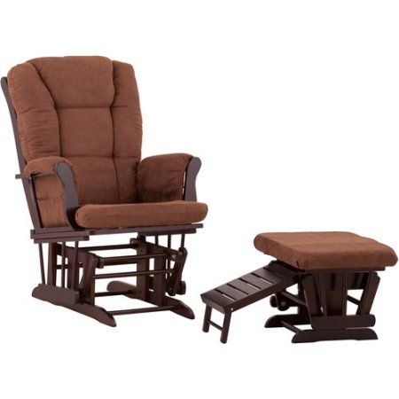 Status Veneto Glider and Nursing Ottoman