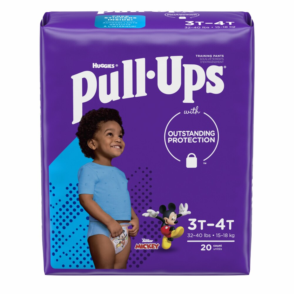 Huggies Pull Up Pants 3T-4T 20