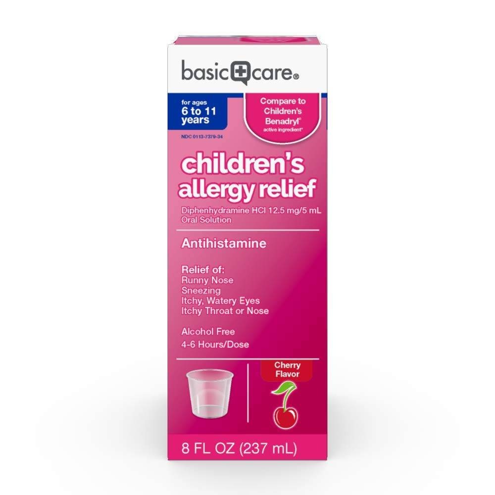 Children's Allergy Relief Diphenhydramine HCl