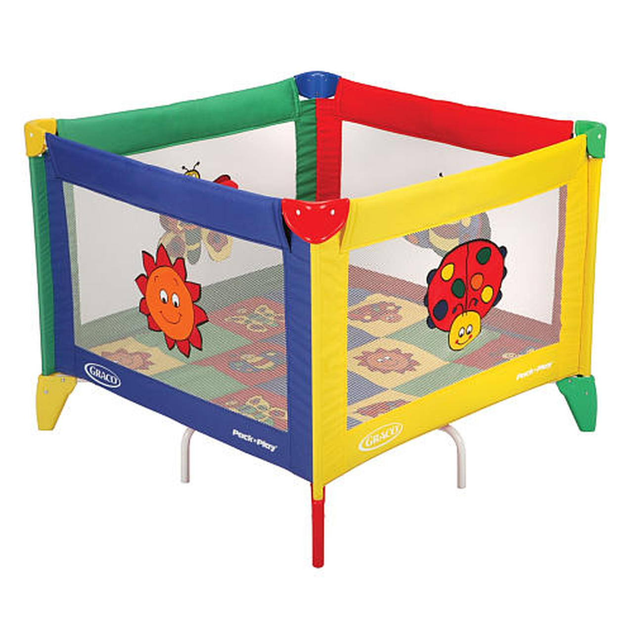 Graco® Pack 'n Play TotBloc® Playard - Bugs Quilt
