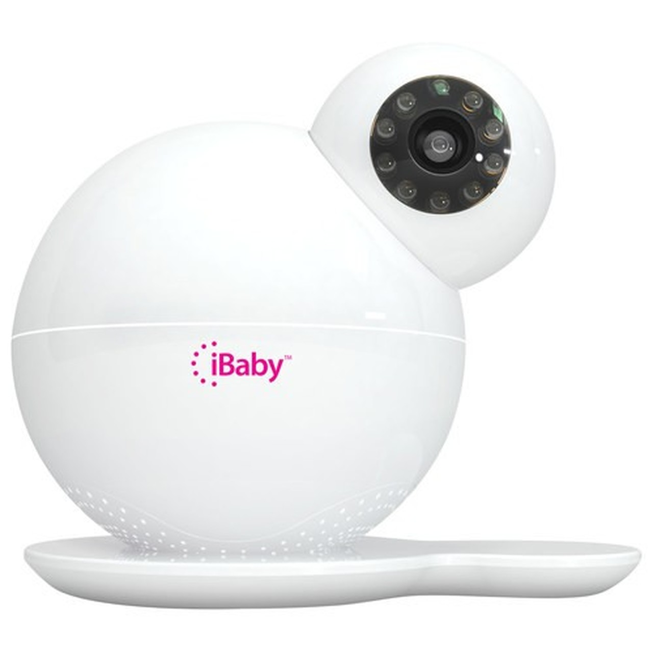 iBaby Monitor M6, HD Wi-Fi Wireless Digital Baby Video Camera with 360 Rotation, Night Vision, Two-way Speakers and Music Player for iPhone and Android
