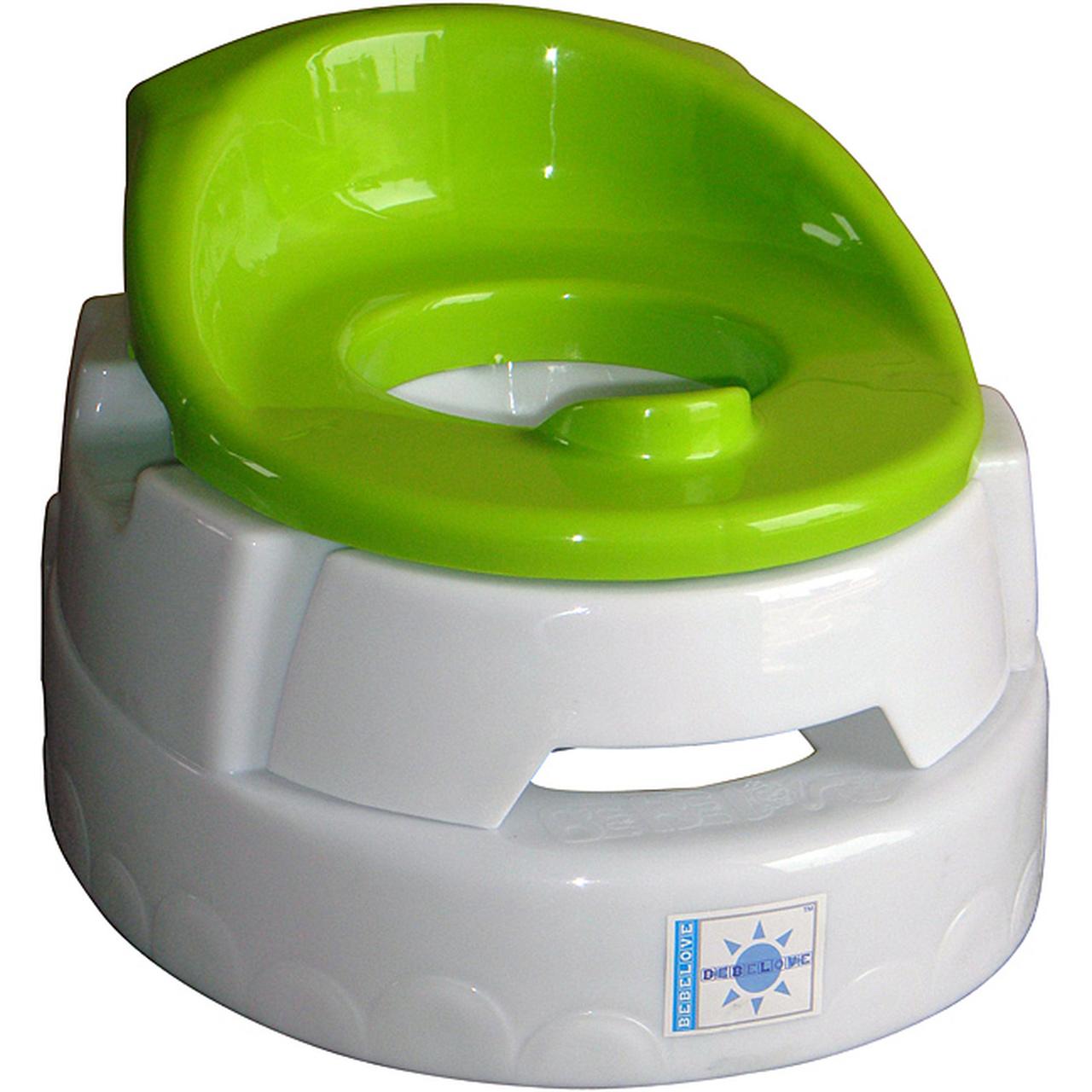 BeBeLove Travel Training Toilet Compact Lolli Potty - Black
