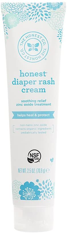 The Honest Company Diaper Rash Cream 2.5 oz
